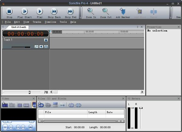 SmartSound音乐编辑软件